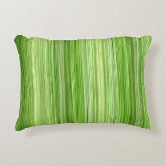 3 ambiants verts, conception moderne originale coussins décoratifs