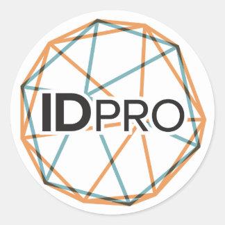 "3"" autocollant brillant d'IDPro"