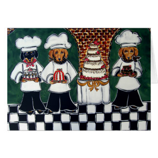 3 boulangers Doxie Cartes