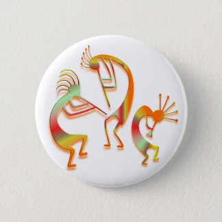 3 Kokopelli #51 Badges