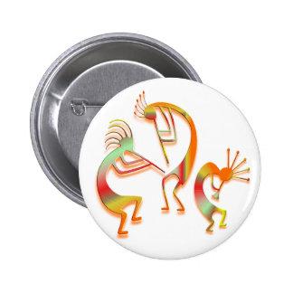 3 Kokopelli #51 Badges