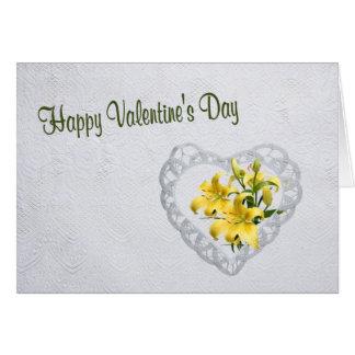 3. Quand je compte mes bénédictions Valentine Carte De Vœux