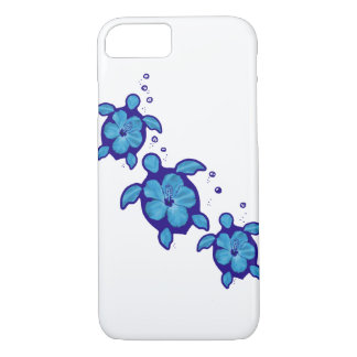 3 tortues bleues de Honu Coque iPhone 7