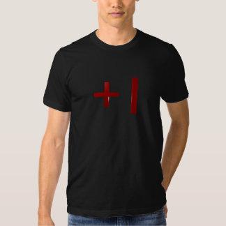3D plus 1 rouge T-shirts