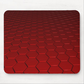 3d rouge de l'arrière - plan 8 tapis de souris
