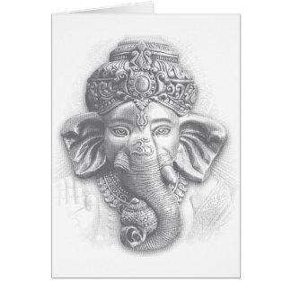 3d seigneur Ganesha - OM Cartes