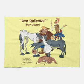 400 ans de @QUIXOTEdotTV de Don don Quichotte Serviettes Pour Les Mains