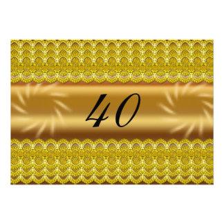 40 invitations d anniversaire fête d anniversaire