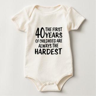 40 les premières conceptions d'anniversaire body