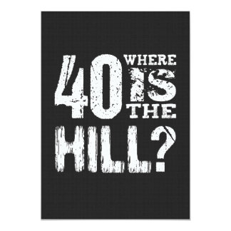 40 où est anniversaire drôle BL01 de colline le Bristol
