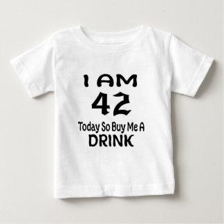 42 achetez-aujourd'hui ainsi moi une boisson t-shirt pour bébé
