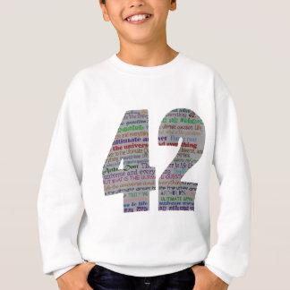 42 : La vie l'univers et tout Sweatshirt