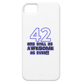 42th conception d'anniversaire coque Case-Mate iPhone 5