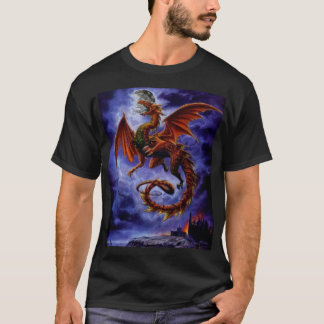 4472~Whitby-Wyrm-Posters T-shirt