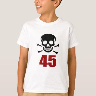 45 conceptions d'anniversaire t-shirt