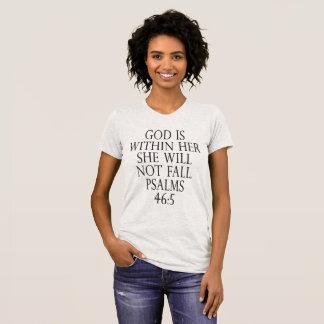 46:5 de psaume t-shirt