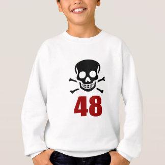 48 conceptions d'anniversaire sweatshirt