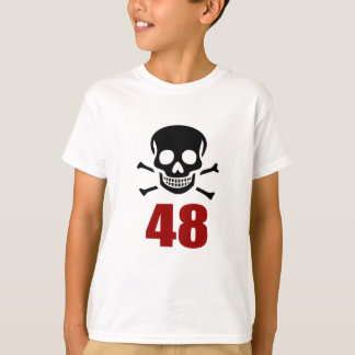 48 conceptions d'anniversaire t-shirt