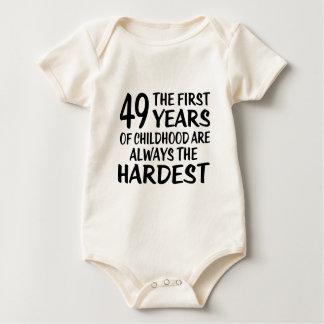 49 les premières conceptions d'anniversaire body