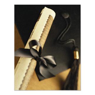 """4,25"""" x 5,5"""" annonces d'obtentions du diplôme de carton d'invitation 10,79 cm x 13,97 cm"""