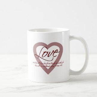4:8 de Peter de l'amour 1 Mug