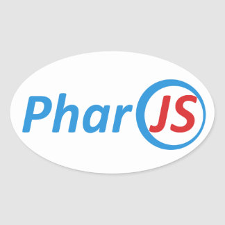 4 autocollants brillants de PharoJS