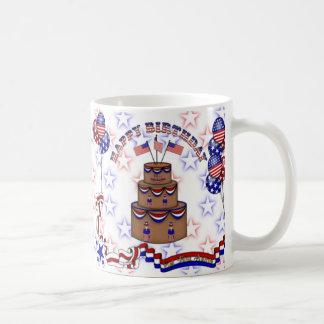 4 juillet célébration mug