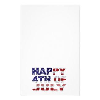 4 juillet contour heureux Txture Illustr des Papeterie