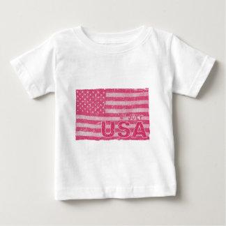 4 juillet cru de Jour de la Déclaration T-shirt Pour Bébé
