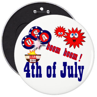 4 juillet les Etats-Unis Pin's