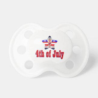 4 juillet les Etats-Unis Tétine