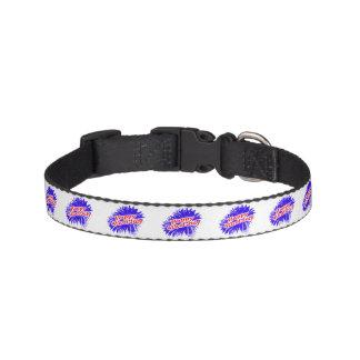 4 juillet logo graphique heureux colliers de chiens