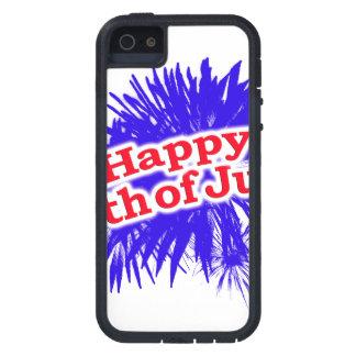 4 juillet logo graphique heureux coque iPhone 5 Case-Mate