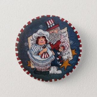 4 juillet Pin heureux de bouton Badges