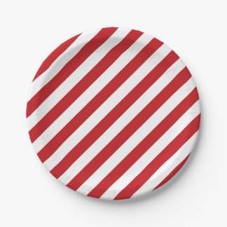 4 juillet plaques à papier de partie blanche rouge assiettes en papier