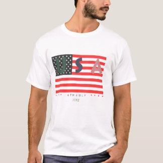 4 juillet T-shirt patriotique