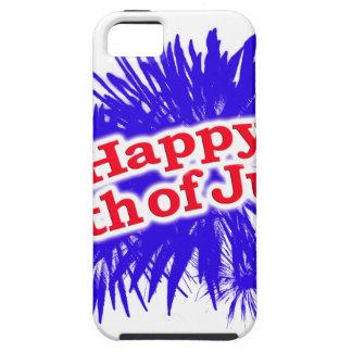 4 juillet thème graphique heureux coques Case-Mate iPhone 5