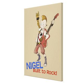 4 petits monstres - Nigel Toiles