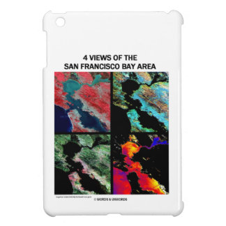 4 vues de la région de baie (imagerie satellitaire coques pour iPad mini