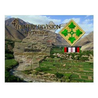 4ème Division d'infanterie Carte Postale
