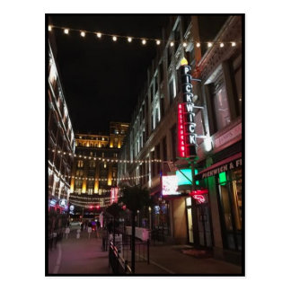 4ème rue est, carte postale de photo de Cleveland,