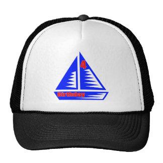 4èmes cadeaux d'anniversaire de voilier casquette