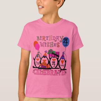 4èmes T-shirts et cadeaux d'anniversaire de