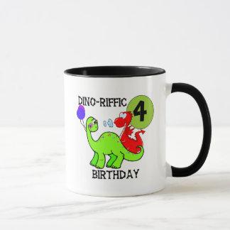4èmes T-shirts et cadeaux d'anniversaire de Mug