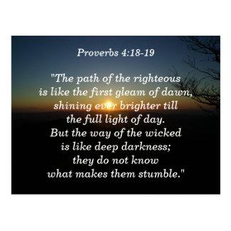 4h18 de proverbes - carte de mémoire de 19