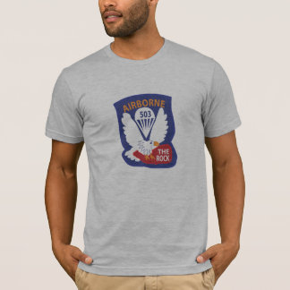 503rd T-shirts de correction de poche de PIR