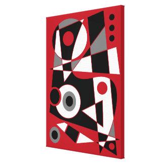 #505 abstrait toiles
