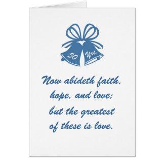 50 ans d'amour carte de vœux