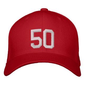 50 cinquante casquette brodée