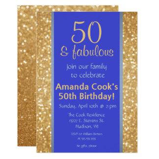 50 élégants et cinquantième invitation fabuleuse